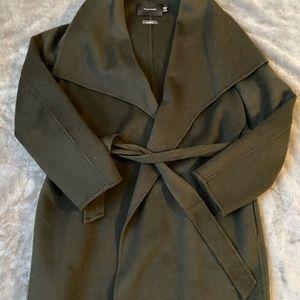 Olive Green will wool blend Tahari jacket
